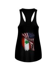 Flag-America-Lebanon Ladies Flowy Tank thumbnail