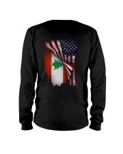 Flag-America-Lebanon Long Sleeve Tee thumbnail