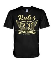 RULES - GIRL 06 V-Neck T-Shirt thumbnail
