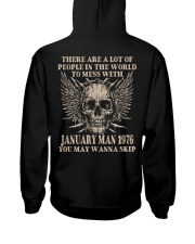 I AM A GUY 76-1 Hooded Sweatshirt back