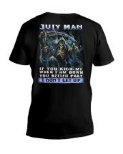MONTH MAN 7 V-Neck T-Shirt thumbnail