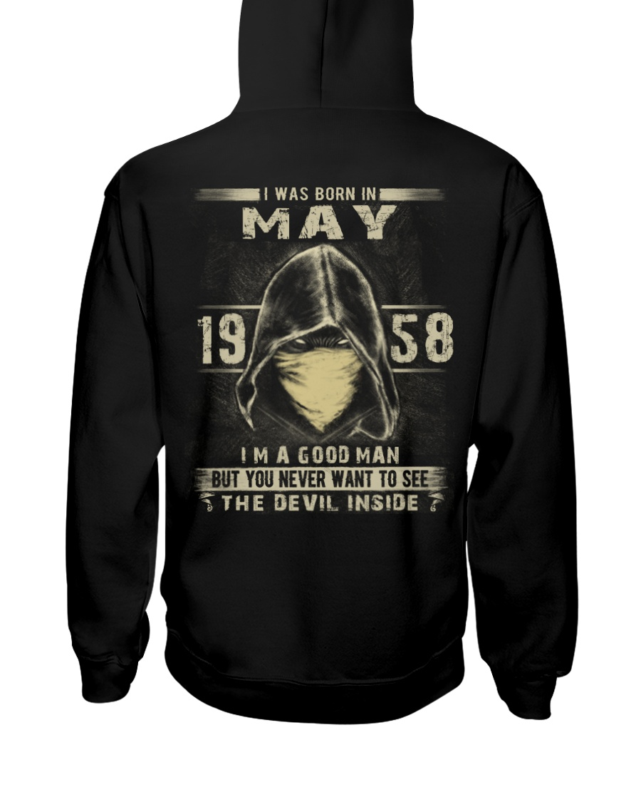 GOOD MAN 1958-5 Hooded Sweatshirt