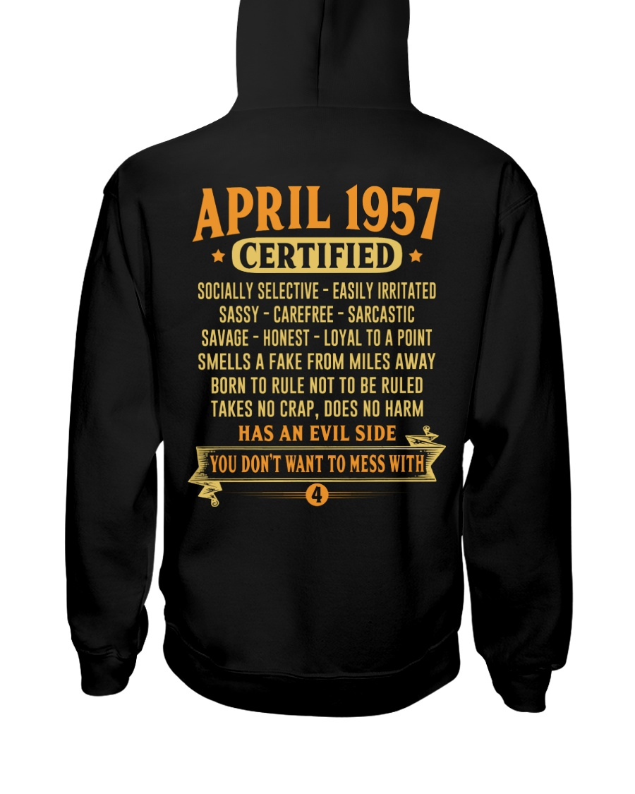 MESS WITH YEAR 57-4 Hooded Sweatshirt