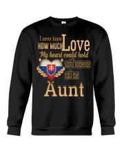I Never Know- Aunt- Slovakia Crewneck Sweatshirt thumbnail