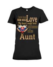 I Never Know- Aunt- Slovakia Premium Fit Ladies Tee thumbnail
