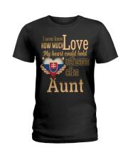 I Never Know- Aunt- Slovakia Ladies T-Shirt thumbnail