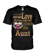 I Never Know- Aunt- Slovakia V-Neck T-Shirt thumbnail