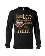 I Never Know- Aunt- Slovakia Long Sleeve Tee thumbnail