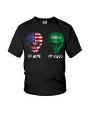 Saudi Arabia Youth T-Shirt thumbnail