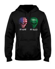 Saudi Arabia Hooded Sweatshirt thumbnail