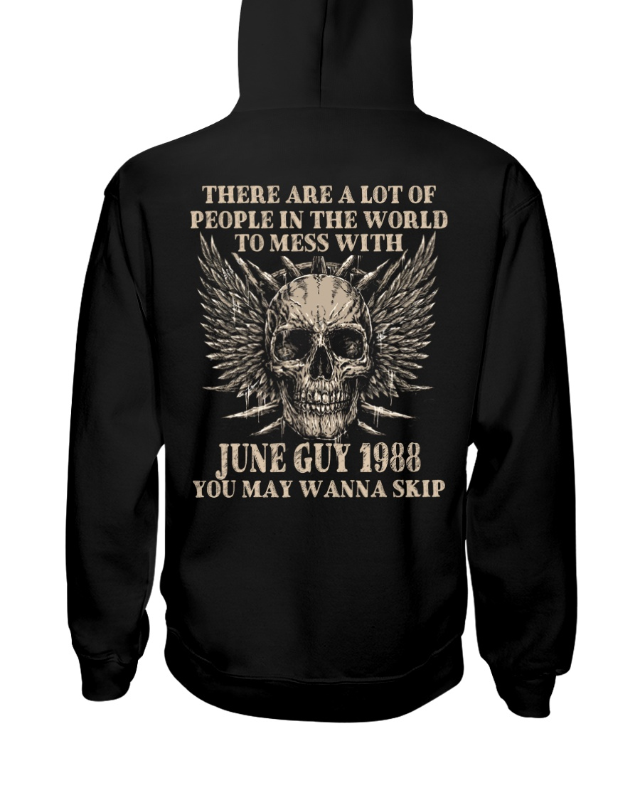 I AM A GUY 88-6 Hooded Sweatshirt