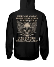 I AM A GUY 88-6 Hooded Sweatshirt back
