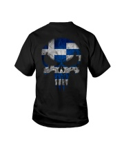 Skull Greece Youth T-Shirt thumbnail