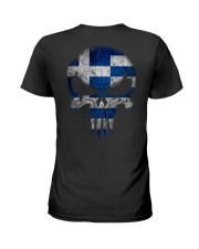 Skull Greece Ladies T-Shirt thumbnail