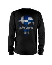 Skull Greece Long Sleeve Tee thumbnail