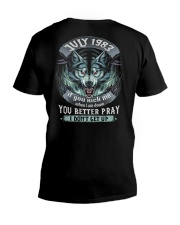 BETTER GUY 83-7 V-Neck T-Shirt thumbnail