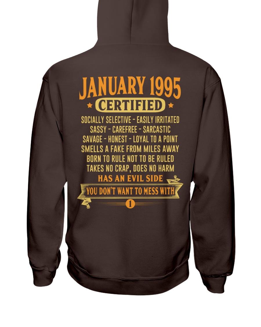 MESS WITH YEAR 95-1 Hooded Sweatshirt