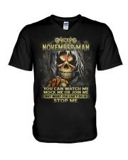 I AM A MAN 011 V-Neck T-Shirt thumbnail