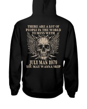 I AM A GUY 79-7 Hooded Sweatshirt back
