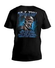 NOT MY 82-7 V-Neck T-Shirt thumbnail