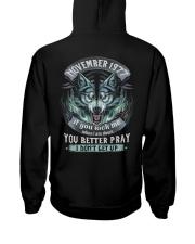 BETTER GUY 77-11 Hooded Sweatshirt back