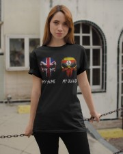Home United Kingdom - Blood Uganda Classic T-Shirt apparel-classic-tshirt-lifestyle-19