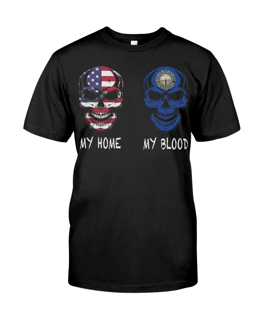 My Home America - New Hampshire Classic T-Shirt