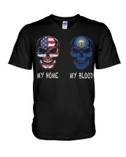 My Home America - New Hampshire V-Neck T-Shirt thumbnail