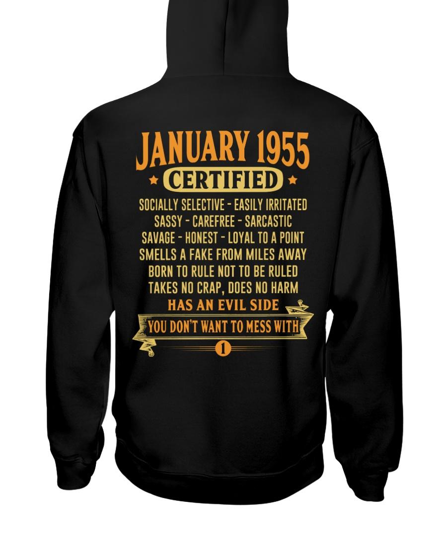 MESS WITH YEAR 55-1 Hooded Sweatshirt