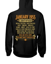 MESS WITH YEAR 55-1 Hooded Sweatshirt back