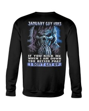 I DONT GET UP 83-1 Crewneck Sweatshirt thumbnail