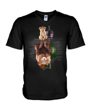 King Portugal V-Neck T-Shirt thumbnail