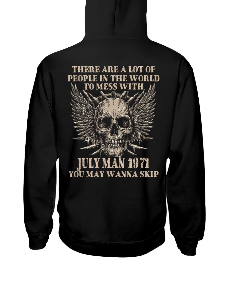 I AM A GUY 71-7 Hooded Sweatshirt