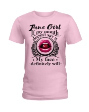 If My Mouth - Girl 06 Ladies T-Shirt tile