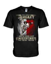 GOOD GUY MALTESE1 V-Neck T-Shirt thumbnail