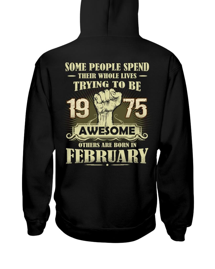 Be Awesome 1975- 2 Hooded Sweatshirt