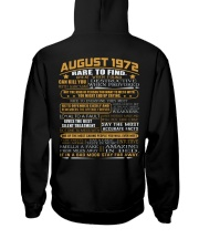 YEAR GREAT 72-8 Hooded Sweatshirt back