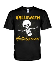 HALLOWINE 039 V-Neck T-Shirt thumbnail