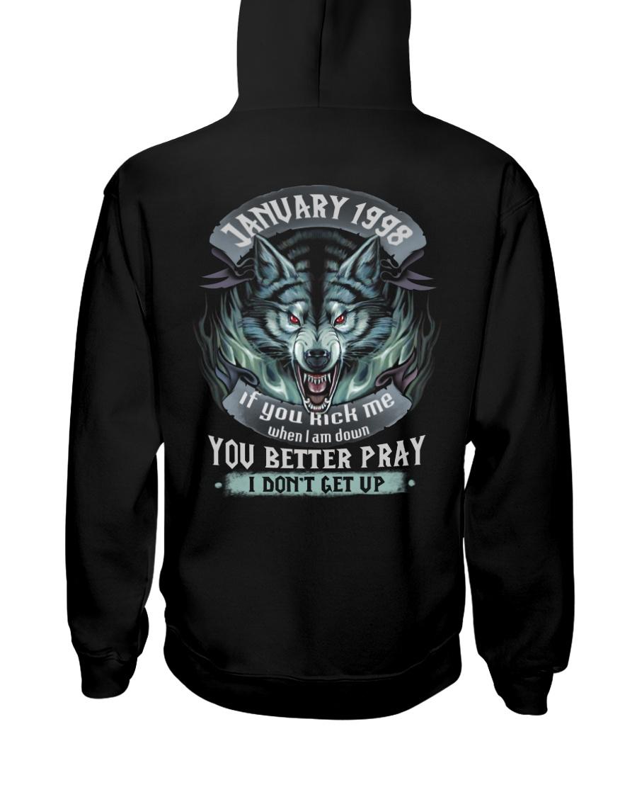 BETTER GUY 98-1 Hooded Sweatshirt