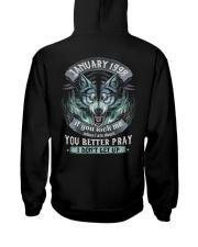 BETTER GUY 98-1 Hooded Sweatshirt back