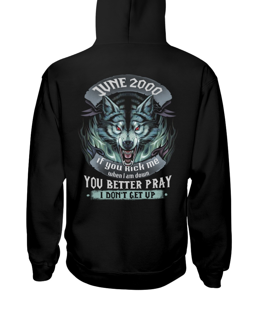 BETTER GUY 00-6 Hooded Sweatshirt