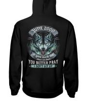 BETTER GUY 00-6 Hooded Sweatshirt back