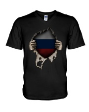 Russia V-Neck T-Shirt tile