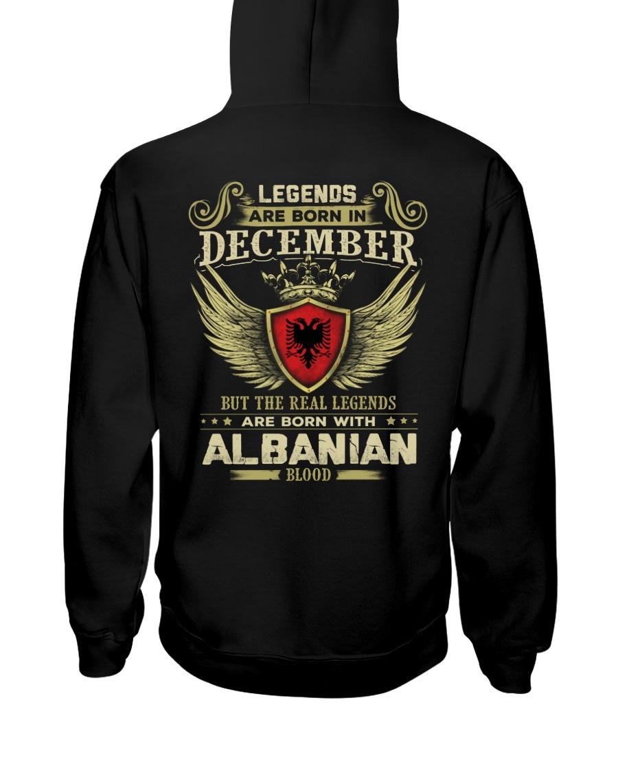 Blood Albanian 012 Hooded Sweatshirt