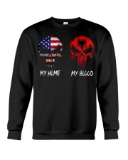 MY HOME SKULL ALBANIA Crewneck Sweatshirt tile
