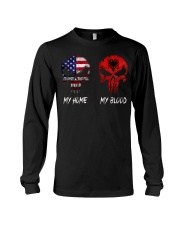 MY HOME SKULL ALBANIA Long Sleeve Tee thumbnail