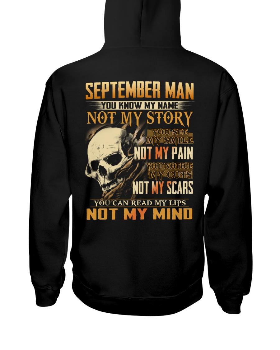 NOT MY MIND 9 Hooded Sweatshirt