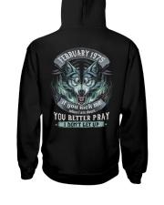BETTER GUY 75-2 Hooded Sweatshirt back