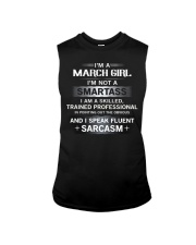 SMARTASS GIRL3 Sleeveless Tee tile