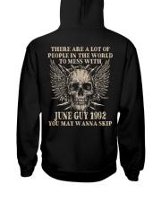 I AM A GUY 92-6 Hooded Sweatshirt back
